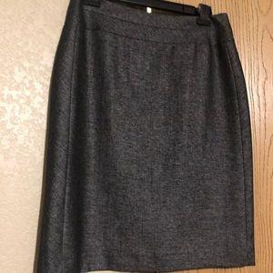 Black Antonio Melani Pencil Skirt